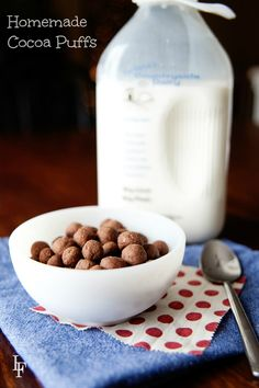 totally worth making with the kids! homemade cocoa puffs recipes. gluten free, paleo, egg free, grain free recipes all in one post!