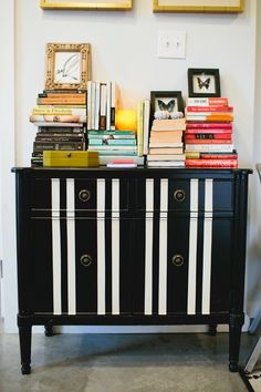 We know. That antique sideboard or set of chairs you got after your grandma died is sentimental, but also completely clashy with every other piece of furniture you own, not to mention out of touch with your general sense of style. Don't trash it or stash it. Here are 10 ways to transform those old pieces into something amazing: