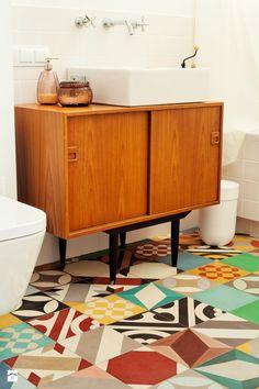 Łazienka styl Vintage - zdjęcie od Qbik Design - Łazienka - Styl Vintage - Qbik Design