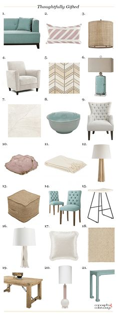 neutral interior with duck egg blue accents, product roundup, get the look, interior styling ideas, interior design inspiration, robin's egg blue, teal blue, blue-green, green-blue, eucalyptus green, aqua green, ivory, light brown, paper bag brown, rose pink, rose quartz, sherwin williams stardew