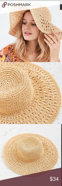 Urban Outfitters Kimchi Blue exclusive floppy hat Urban Outfitters Kimchi Blue exclusive floppy hat-NWT!🎈🎈🎈BEST IN JEWELRY AND ACCESSORIES 🎈🎈🎈 Urban Outfitters Accessories Hats