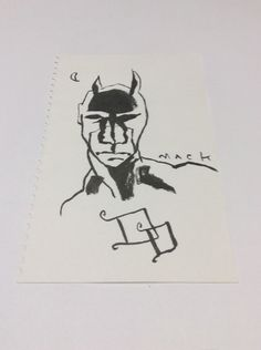 Daredevil Original Art Sketch by David Mack Marvel Comics | eBay