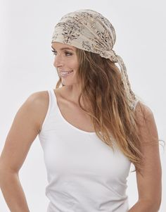 This headscarf with long style is done from quality cotton. The Scarves are recommended for women with hair loss or women following chemo treatment against Cancer.