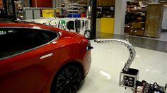 Tesla Model S : vers une recharge automatisée ?