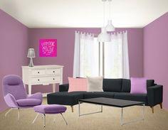 Ben jij helemaal weg van kleur? Laat dat dan ook in jouw woning zien. Verf de muren in een opvallende kleur en hou de rest van de meubels lekker rustig. Zodat de kleur extra tot zijn recht komt.
