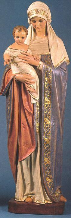 """""""Maria é Mãe de Deus, feita pela mão de Deus"""". (S. Agostinho)"""