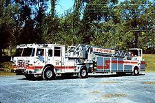 ◆Stroudsburg, PA FD Truck 38 ~ 2013 Pierce Arrow XT 100' TDA◆
