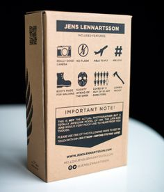 Most epic Self-Marketing with Action Figures by Photographer Jens Lennartsson Pictures + Clip) Tea Packaging, Brand Packaging, Packaging Design, Branding Design, Packaging Ideas, Resume Design, Self Branding, Business Branding, Personal Branding