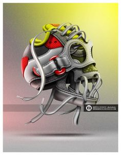 These Illustrations Transform Nike Shoes into Skulls