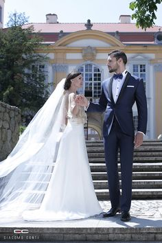 Stylizacja ślubna od Giacomo Conti: Formal, Wedding Dresses, Suits 2016, Style, Architecture, Fashion, Weddings, Preppy, Bride Dresses