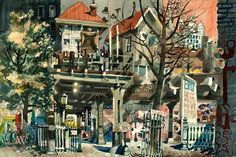 Dong Kingman Watercolor