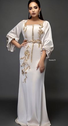 Abaya Style 584834701600261281 - Source by ikacandy Ladies Day Dresses, Dressy Dresses, Elegant Dresses, Satin Dresses, African Fashion Dresses, African Dress, Saree Wearing Styles, Morrocan Dress, Pakistani Formal Dresses