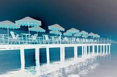 I uploaded new artwork to fineartamerica.com! - 'Beach With Pier And Umbrellas' - http://fineartamerica.com/featured/beach-with-pier-and-umbrellas-lanjee-chee.html via @fineartamerica