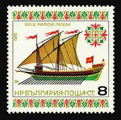 Historic Ships, 1980, by Stefan Kanchev.