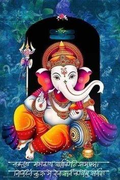 Ganesha Drawing, Lord Ganesha Paintings, Lord Shiva Painting, Krishna Painting, Shiva Art, Krishna Art, Hindu Art, Shree Krishna Wallpapers, Radha Krishna Wallpaper