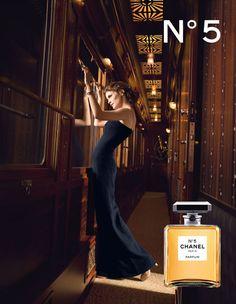 Affiche Publicitaire Parfum  Chanel avec Audrey Tautou