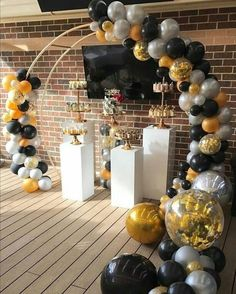 Super birthday pictures for adults baby shower Ideas Graduation Party Decor, Grad Parties, 1st Birthday Parties, Birthday Party Decorations, Wedding Decorations, Balloon Arch, Balloon Garland, Balloon Decorations, Deco Ballon