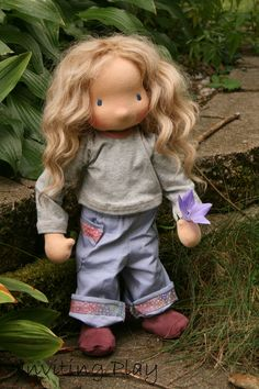 This is a blog post about a doll I call Hoolie