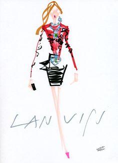 """""""Lanvin FALL 2012 READY-TO-WEAR"""" miyuki ohashi"""