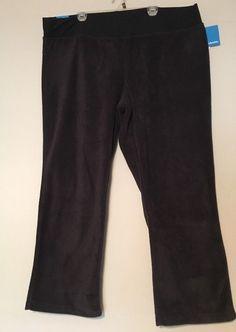 40b96db015692 Columbia 3X fleece sweatpants black elastic waist straight leg NWT  65  retail  Columbia  fleeceloungepants