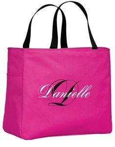 Personalized Tote Bag / Wedding Tote / Bridesmaid Tote /. $16.99, via Etsy.