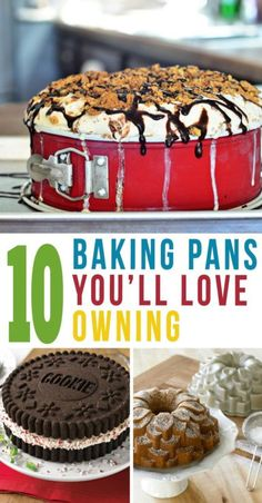 Whether you're planning an epic party, or just craving dessert, why use a boring old cake pans? Kick your baking up a notch and add some fun and whimsy to your baked goods, with these 10 baking pans you& Baking Tips, Baking Recipes, Dessert Recipes, Baking Hacks, Yummy Treats, Delicious Desserts, Sweet Treats, Oreo, Baking Supplies