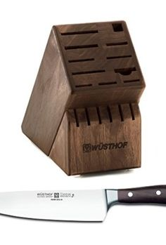 Wusthof-Walnut-17-Slot-Knife-Block-with-Ikon-Blackwood-8-Inch-Cooks-Knife-0