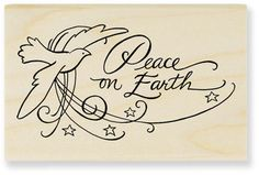 Classic Peace - Rubber Stamps