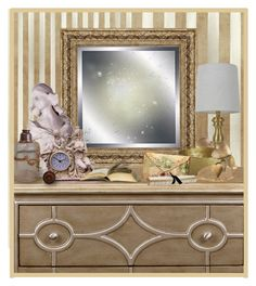 """""""Vignettes with Dressers!"""" by eco-art ❤ liked on Polyvore featuring interior, interiors, interior design, home, home decor, interior decorating, Élitis, Universal Lighting and Decor, Jayson Home and Chandelier"""