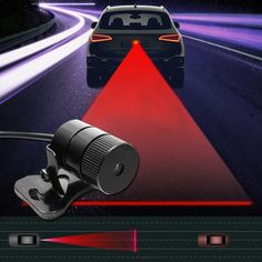 Hot Sale Anti Collision Rear-end Car Laser Tail Led Car Fog Light Driving Safety Signal Warning Lamp Light - Car Toys Store Brakes Car, Driving Safety, Car Gadgets, 12v Led, Rear Ended, Car Camera, Lamp Bulb, Car Videos, Car Lights