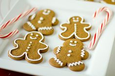 Preparing a gingerbread cookie recipe can be a lot of fun and the kids (or your drunk friends) can even help decorate them as they come out of the oven.