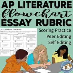 AP English Literature and Composition Flowchart Essay Rubric This rubric helped my students understand how to score and improve their essays. High School Literature, British Literature, English Literature, Teaching Writing, Teaching English, Teaching Literature, English Teachers, Writing Lessons, Writing Ideas