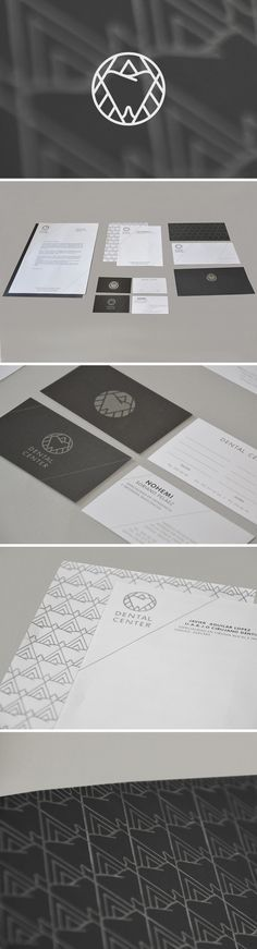 Designer: Flor Aguilar  ::::: Logo, Corporate identity for Dental Center