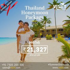 Visiit - Google+ Honeymoon Tour Packages, Visit Thailand, Travel Deals, Holiday Fun, Tours, Google, Outdoor, Outdoors, Outdoor Games