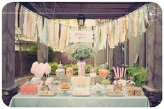 Peach Ribbon Banner - soooooo emma's colors!