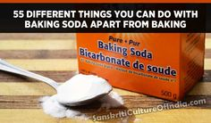 Things You Can Do With Baking Soda Apart From Baking – Sanskriti - Hinduism and Indian Culture Website Sodium Bicarbonate, Hinduism, You Can Do, Baking Soda, Culture, Indian, Pure Products, Canning, Website