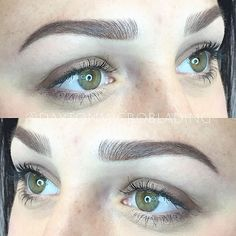 Hybrid brows are here! This technique is a combo of machine work and microblading.. and I'm in loooove. Keep an eye out for #nanobrows and #powderbrows too! Remember, I have 3 new techniques to offer on top of regular microblading: nano brows (full machine work), powder brows/ombré brows (full machine), and a hybrid of powder/hair strokes (can be blading or machine for strokes). What I am most excited about is that now I can custom fit each and every one of you to the appropriate type of...