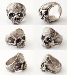Lunatic Nights | Rakuten Global Market: QUETZAL [Vanitas Ring] (silver accessory / Silver925 / ring /skull ring)