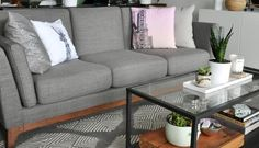 High Style, Low Price: Article Ceni Sofa in Pyrite Gray
