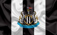 Download wallpapers Newcastle United, Football Club, Premier League, football, Newcastle upon Tyne, United Kingdom, England, flag, emblem, logo, English football club