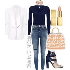 A fashion look from November 2014 featuring Armani Jeans sweaters, MANGO blazers and River Island jeans. Browse and shop related looks.
