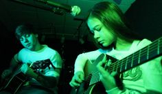 Wish You Were Here - Pink Floyd cover by 11 year old Sara & Josh (+playl...