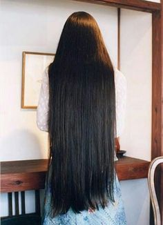 Long Blunt Haircut, Thick Hair Bob Haircut, Bun Hairstyles For Long Hair, Permed Hairstyles, Braids For Long Hair, Hair And Beauty, Beautiful Long Hair, Amazing Hair, Really Long Hair