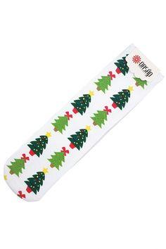 Massive Christmas Trees Ankle Socks