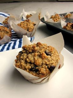 Peanut Butter Quinoa Oat Muffins....I made these using Coconut oil and eliminating the sugar, they were delicious!!