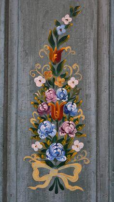 Motif Floral Alsacien