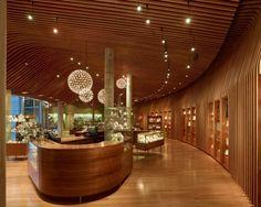 Crystal Bridges Museum of American Art, Museum Store / Marlon Blackwell Architects. Image © Timothy Hursly