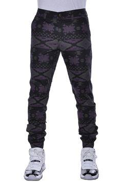 Heft Navajo Tribal Fashion Apparel Harlem Jogger Pants 30x30