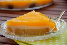 Δροσερό γλυκό με άρωμα πορτοκαλιού
