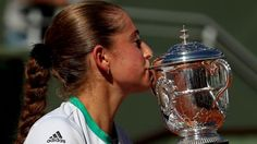 #tennis #news  French Open win a dream - Ostapenko